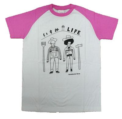 いすみLIFE Tシャツ ピンク
