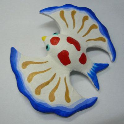 金魚鳥人形