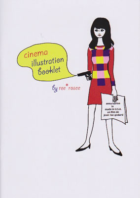cinema illustration booklet