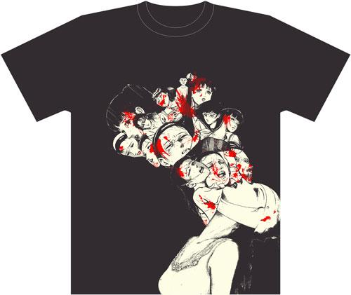 愛蔵版血まみれ天使Tシャツ