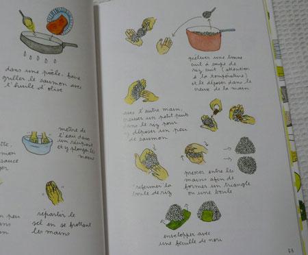 mes recettes onigiri