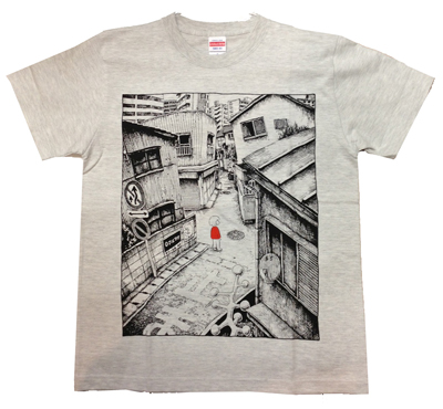 panpanya Tシャツ 町