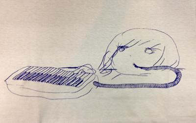 oanoanya Tシャツ ピアニカ