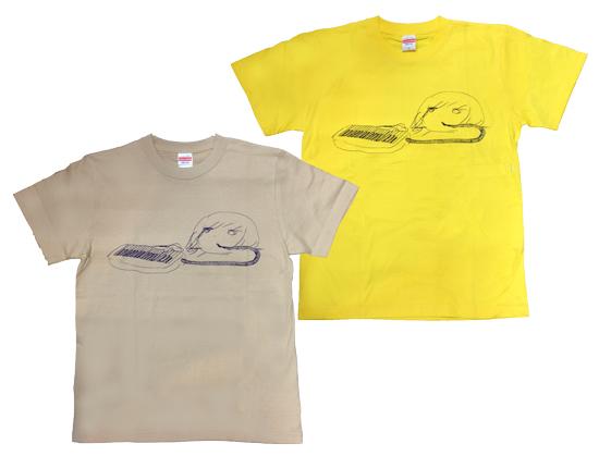 panpanya ピアニカTシャツ