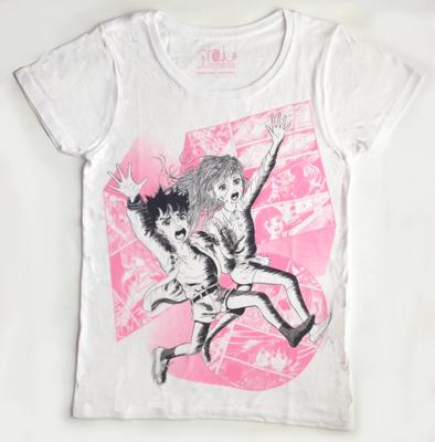 楳図かずお わたしは真悟 サトル&マリンTシャツ